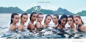 Victoria's Secret Taps 9 Models for Its Swim 2 2015 Catalogue Cover!