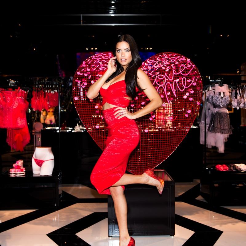 Adriana Lima in Las Vegas