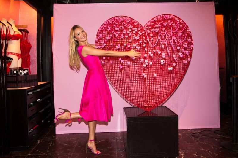 Candice Swanepoel in New York