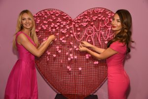 Victoria's Secret Models Do Valentine's Day Promo in Style