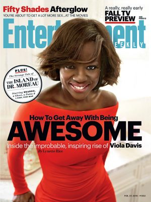 Viola Davis Covers Entertainment Weekly, Discusses 'How to Get Away with Murder' Sex Scenes