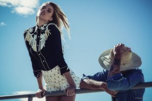 Hailey Clauson Stars in Stone Cold Fox's Western-Inspired Spring '15 Lookbook