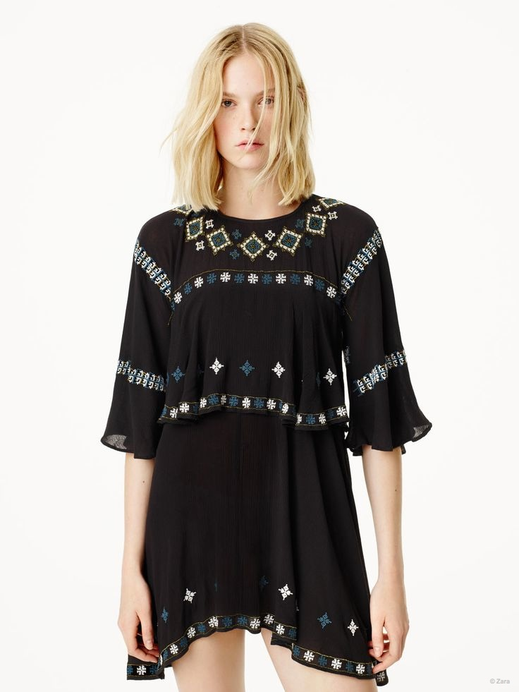 Zara Embraces Floral Prints & Denim for Spring 2015 Collection
