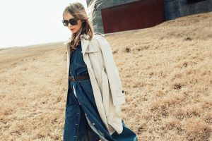 Sophie Srej Channels 70s Style in Denim Looks