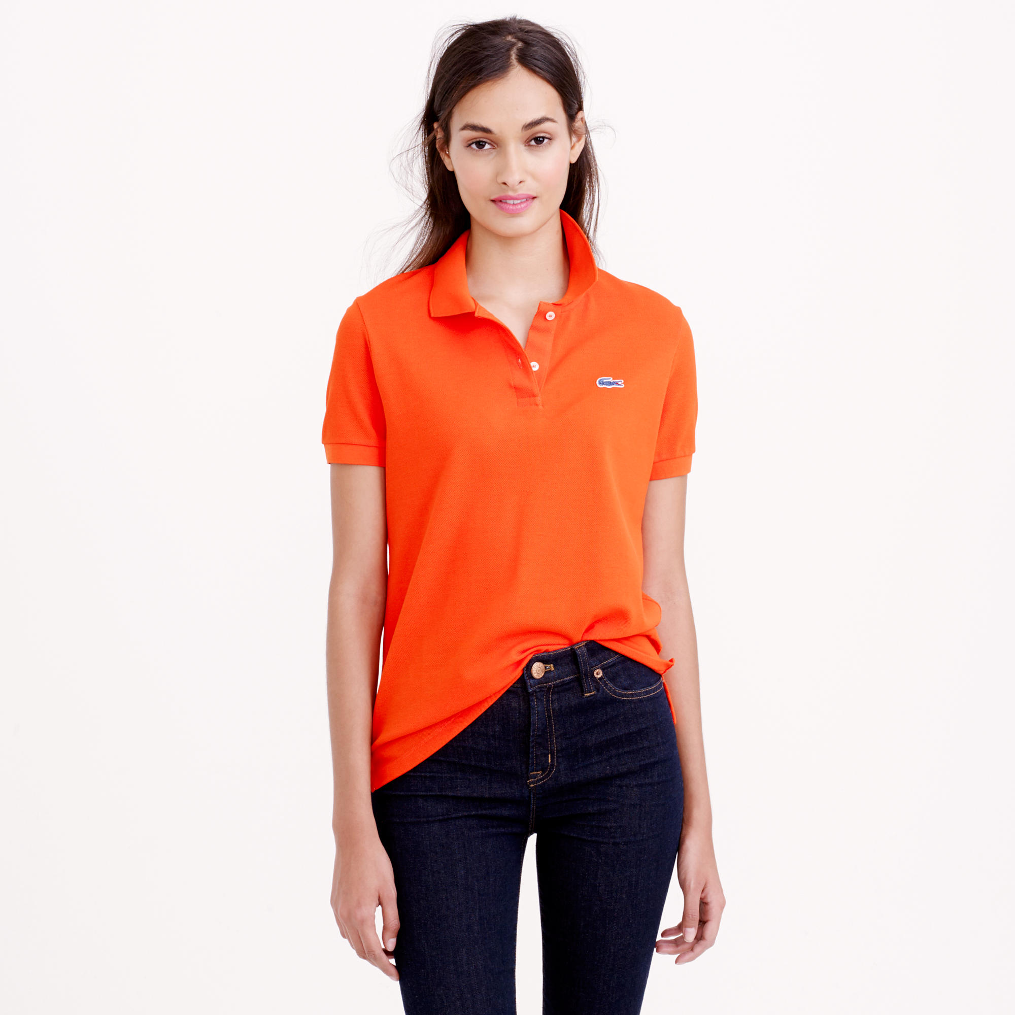 See Lacoste x J.Crew Collaboration Polo Shirt