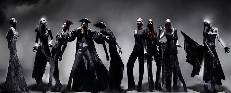 'Black' Alexander McQueen tableaux by Nick Knight (Part 1)