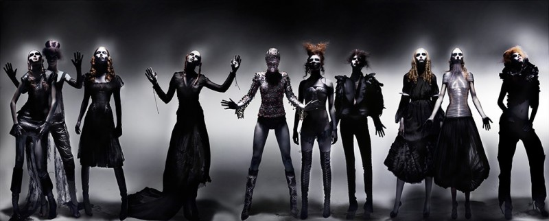 'Black' Alexander McQueen tableaux by Nick Knight (Part 2)