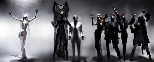 View Unseen Alexander McQueen Image with Kate Moss, Naomi Campbell