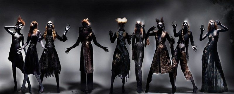 'Black' Alexander McQueen tableaux by Nick Knight (Part 4)