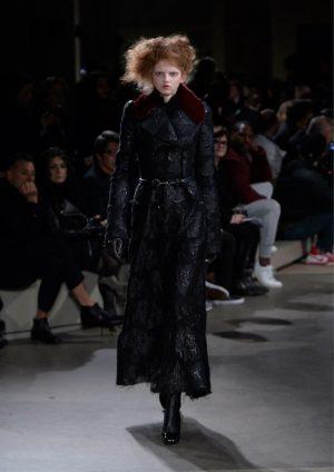 Models Had Gibson Girl Hair at Alexander McQueen
