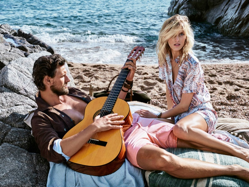Anja Rubik Has a Spring Getaway with Her Husband