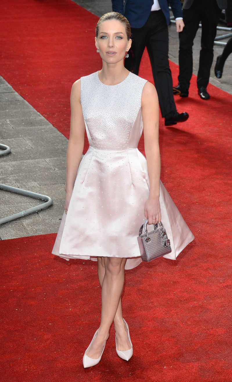Annabelle Wallis wore a pink Dior dress. Photo: Landmark / PR Photos