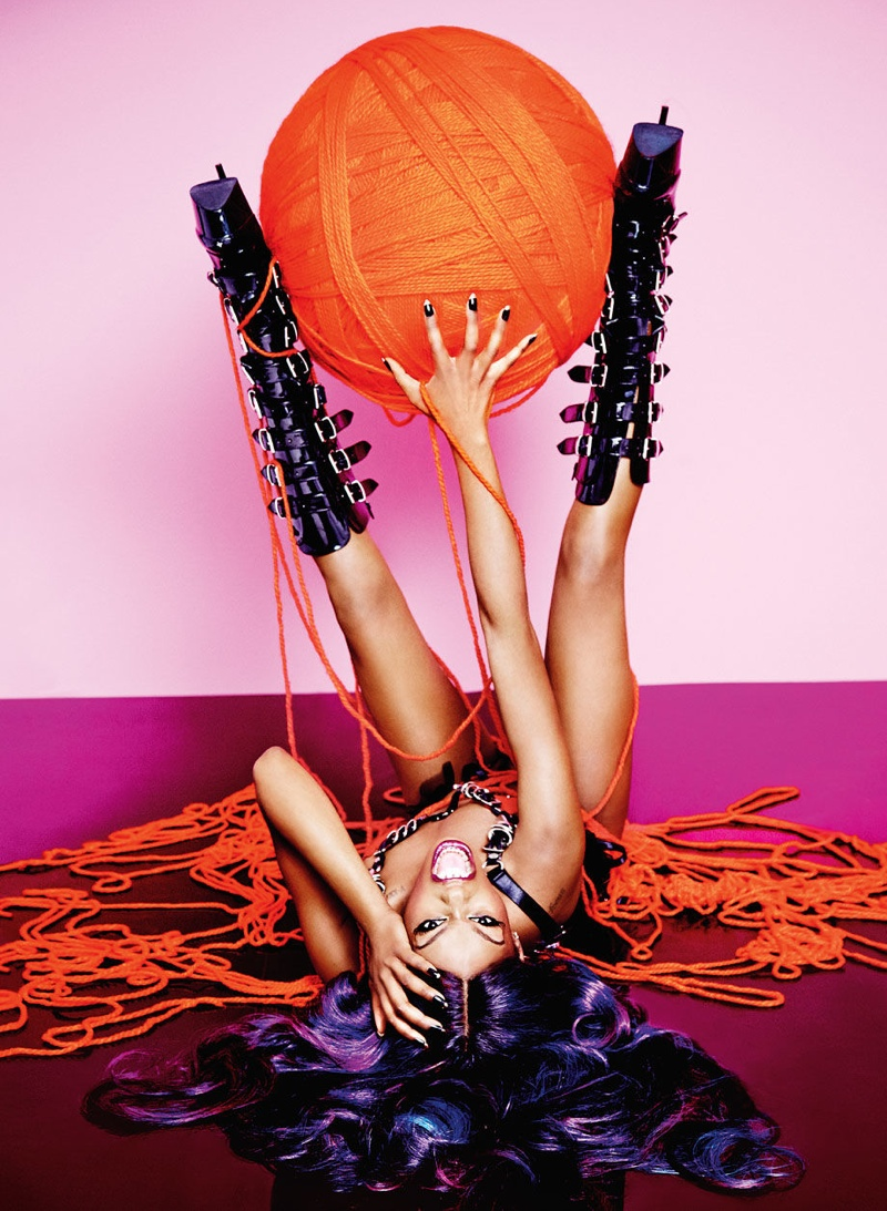 Azealia Banks Poses for Playboy & Says She Wants to Be Like Jay Z