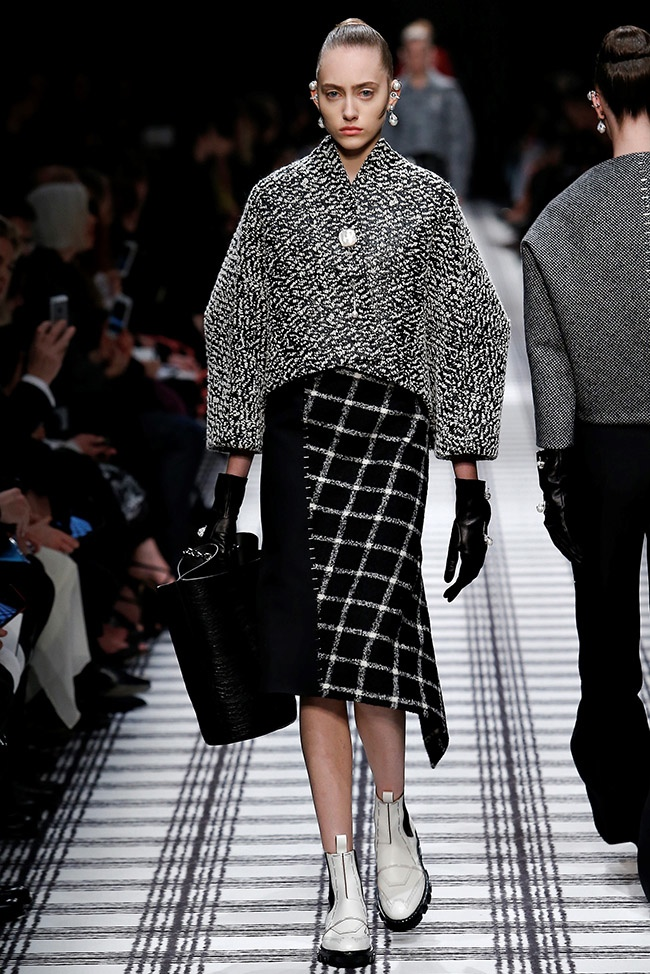 Balenciaga Does Cocoon Shapes For Fall 2015 Fashion Gone