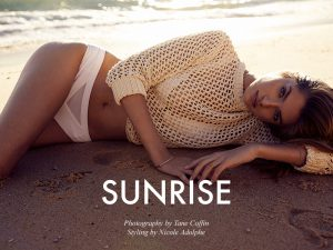 "FGR Exclusive | Frederikke Winther by Tane Coffin in ""Sunrise"""