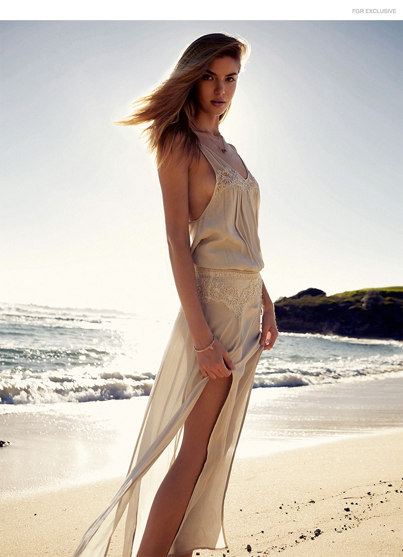 Long Dress Magali Pascal