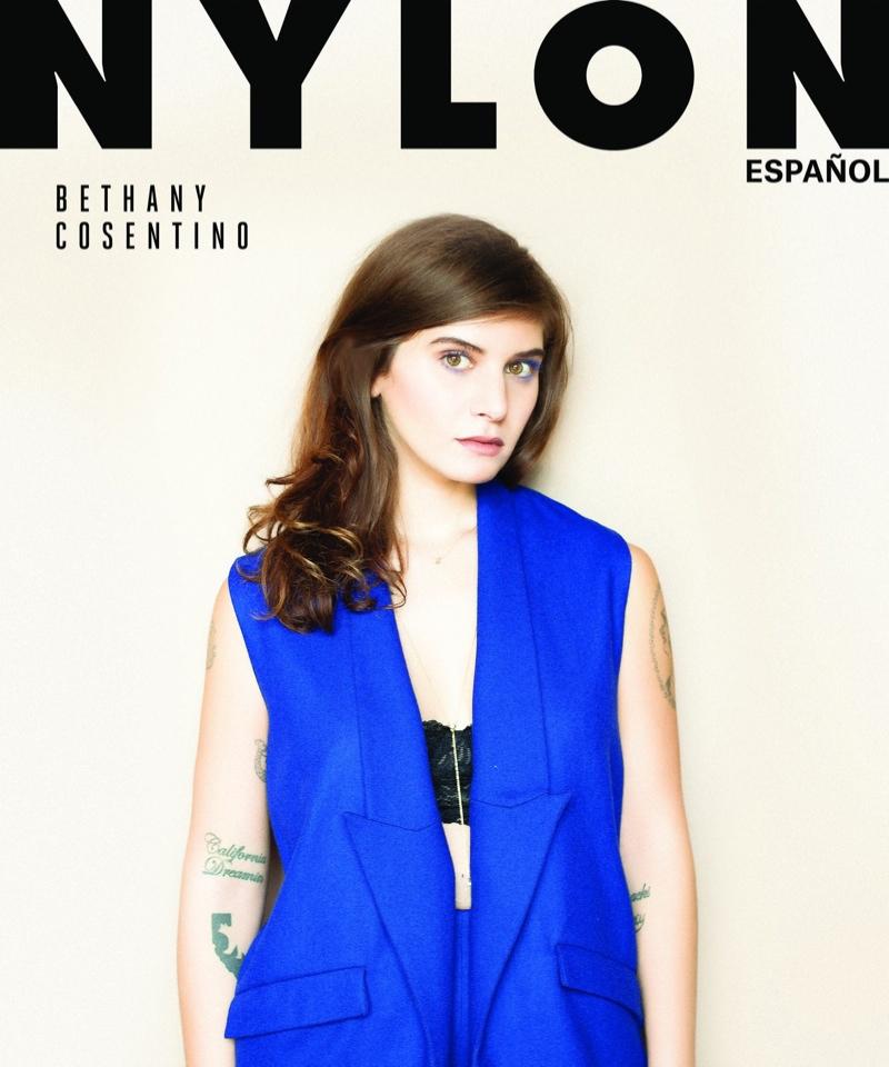 Bethany Cosentino on Nylon Español March 2015 Cover