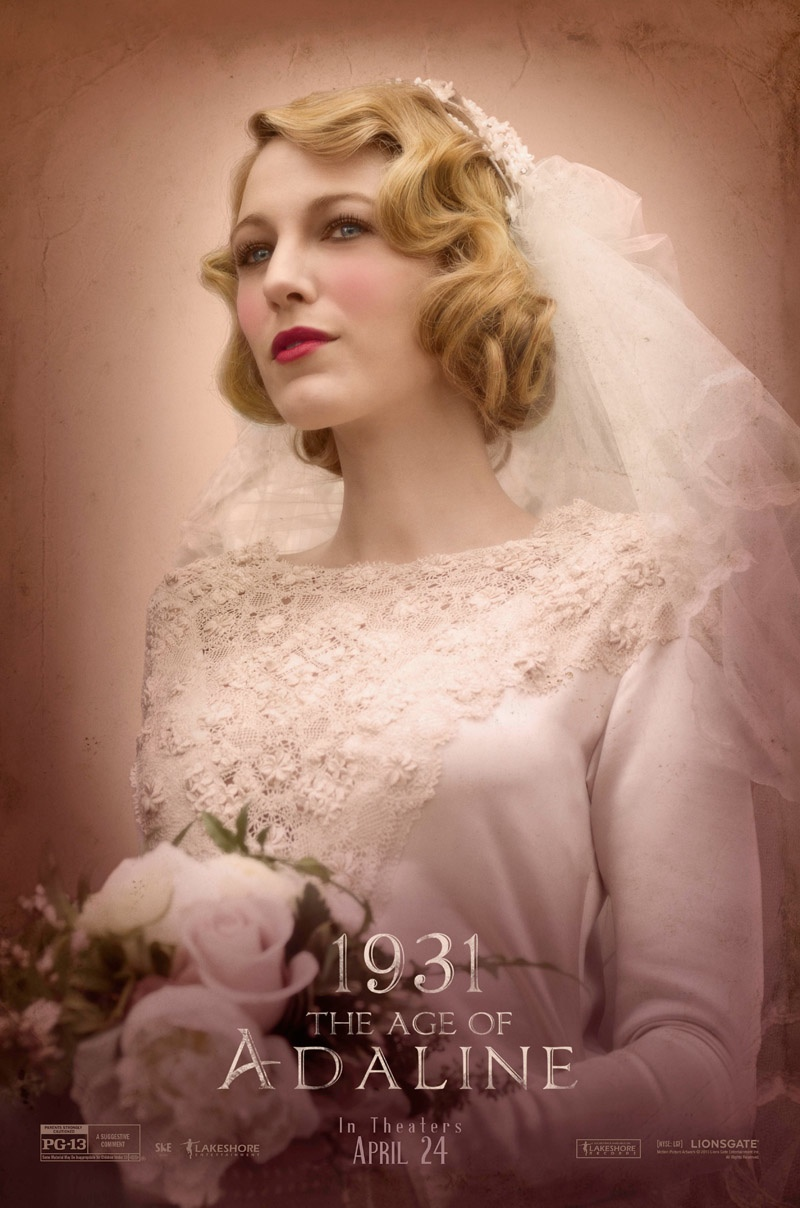 See Blake Lively's Style Through 9 Decades for 'The Age of Adaline' Posters