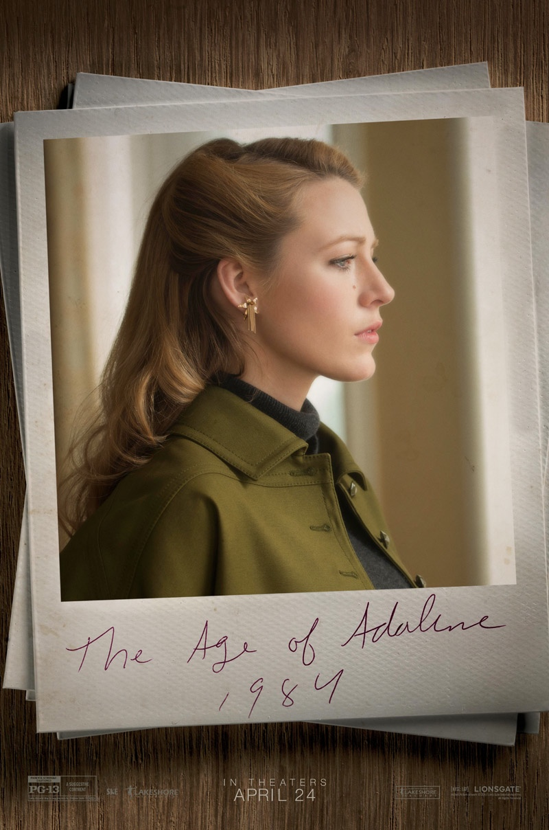 Blake Lively Style Retro Looks On The Age Of Adaline