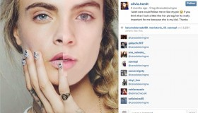 Cara Delevingne has a lookalike in Uruguay. Photo: Instagram