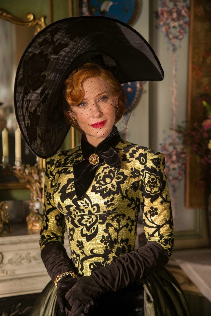 Cate Blanchet channels 1940s style and beauty as Lady Tremaine in 'Cinderella'.