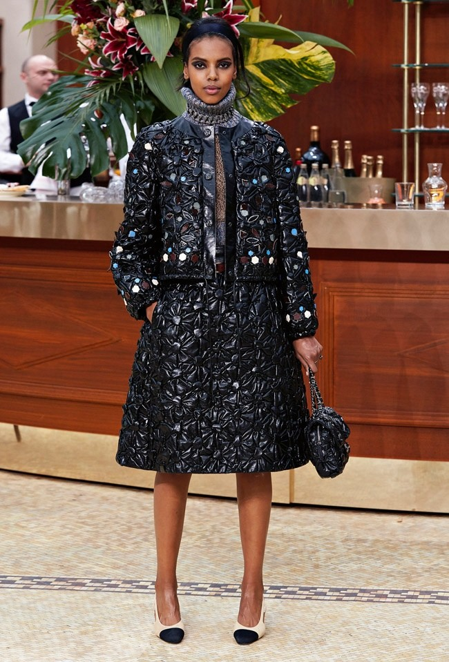 A look from Chanel's fall-winter 2015 collection