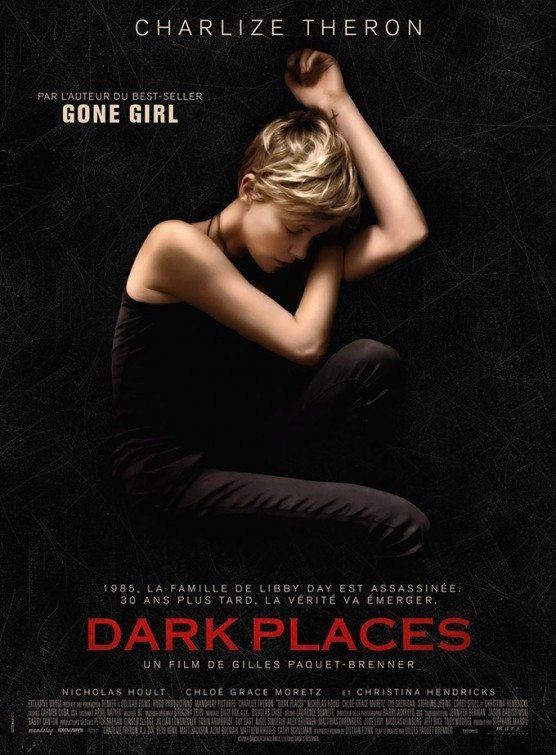 Charlize Theron appears on  'Dark Places' (2015) international poster.