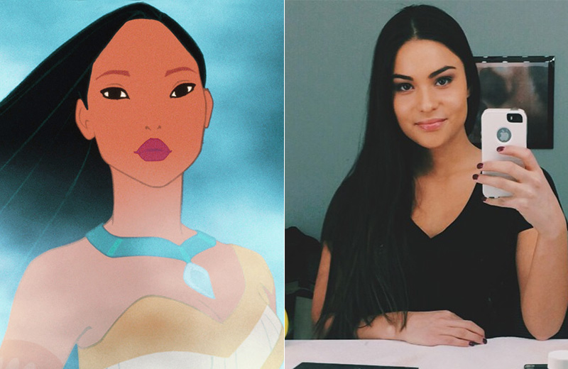 Devery Jacobs is a First Nations actress who landed a 2014 Canadian Screen Award nomination for Best Actress in the movie, 'Rhymes for Young Ghouls'. She reportedly auditioned for the role of Tiger Lily in the 2015 film, 'Pan'. We think this rising star could be a good choice to play Pocahontas. Photo: Disney/Instagram