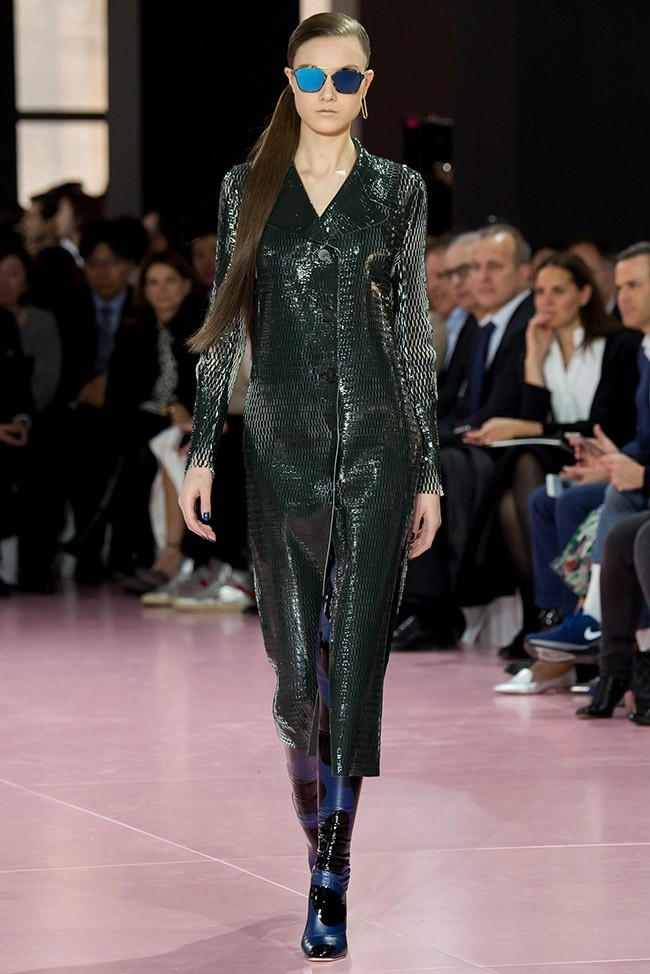 A look from Dior's fall-winter 2015 collection