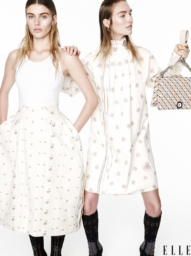"""Dior's Raf Simons to ELLE:  """"Fashion is Now Pop"""""""