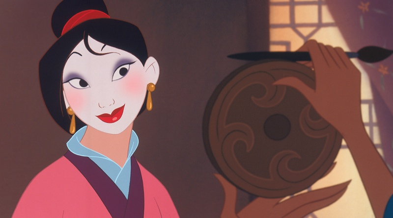 A still from the animated version of 'Mulan'. Photo: Disney