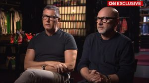"""Dolce & Gabbana Sit with CNN: """"We Respect how all people live"""""""