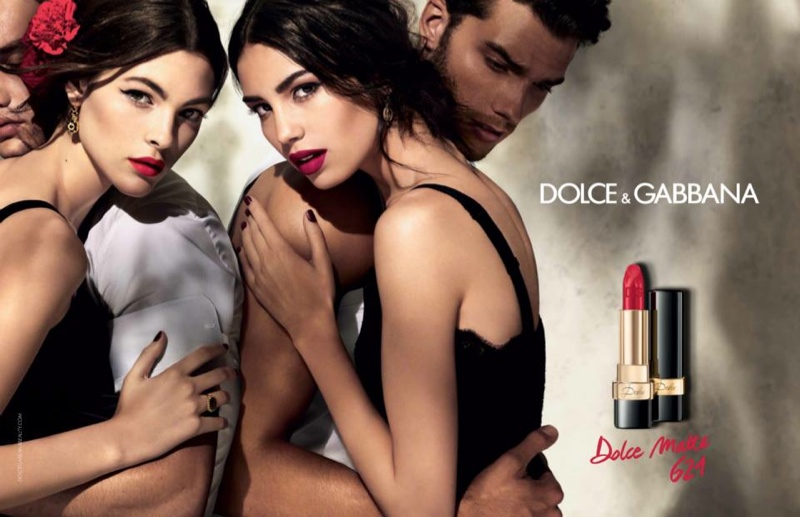 Dolce & Gabbana's Matte Lipstick range features 13 shades of red ranging from vibrant to dark hues.