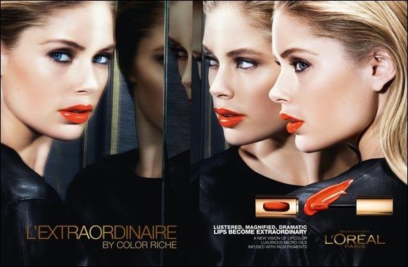 Beauty Overdose: Doutzen Kroes, Lara Stone Pose for New L'Oreal Photos