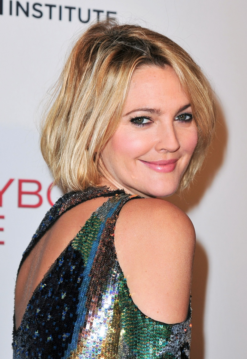 Drew Barrymore Bob Haircut