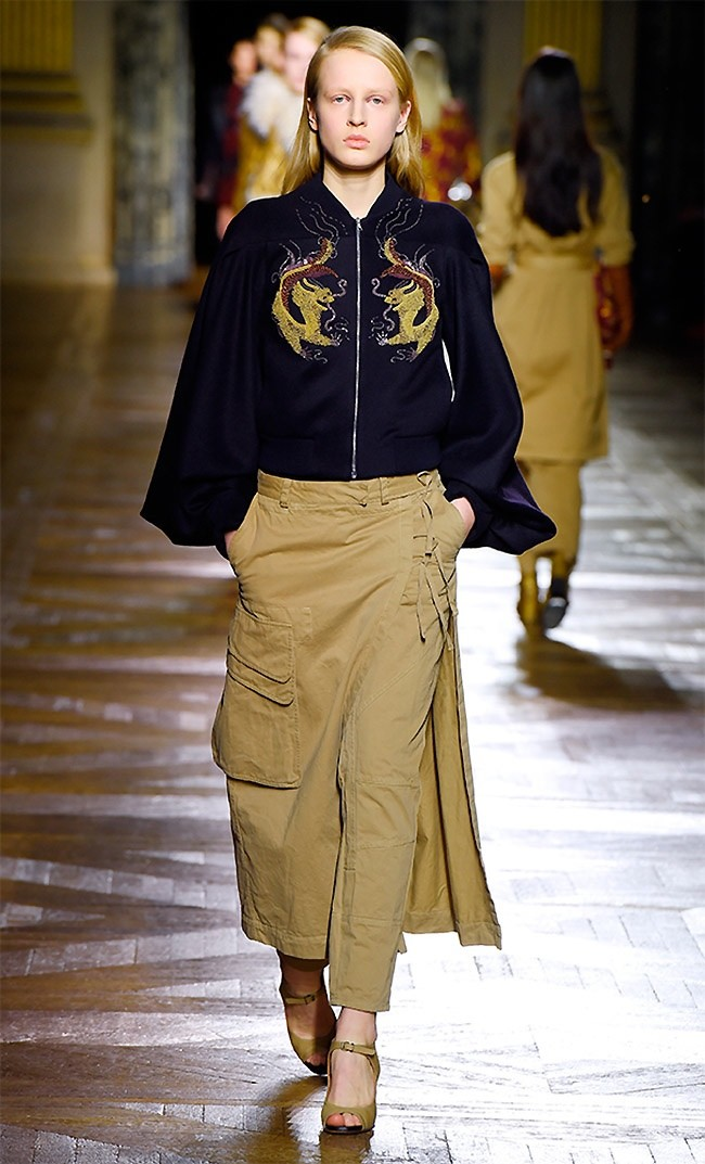 Dries Van Noten Fall 2015: Glamorous Bohemian