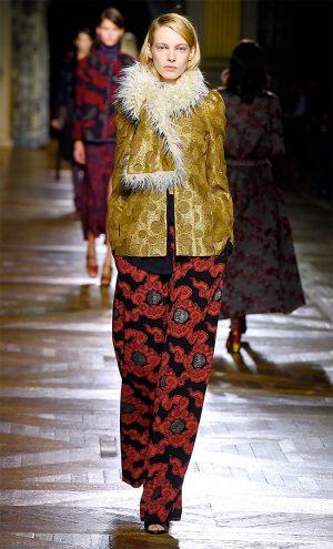 Dries Van Noten Fall 2015: Glamorous Bohemian