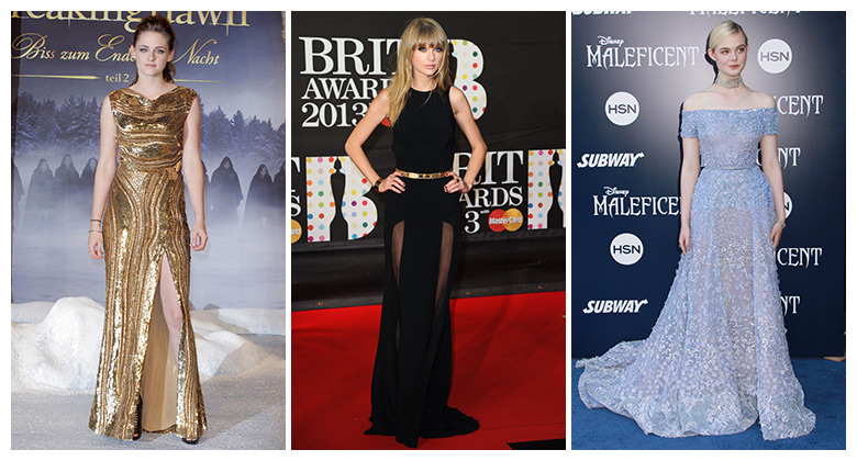 Kristen Stewart, Taylor Swift & Elle Fanning are all fans of Elie Saab. Photo: PR Photos/Shutterstock.com/PR Photos