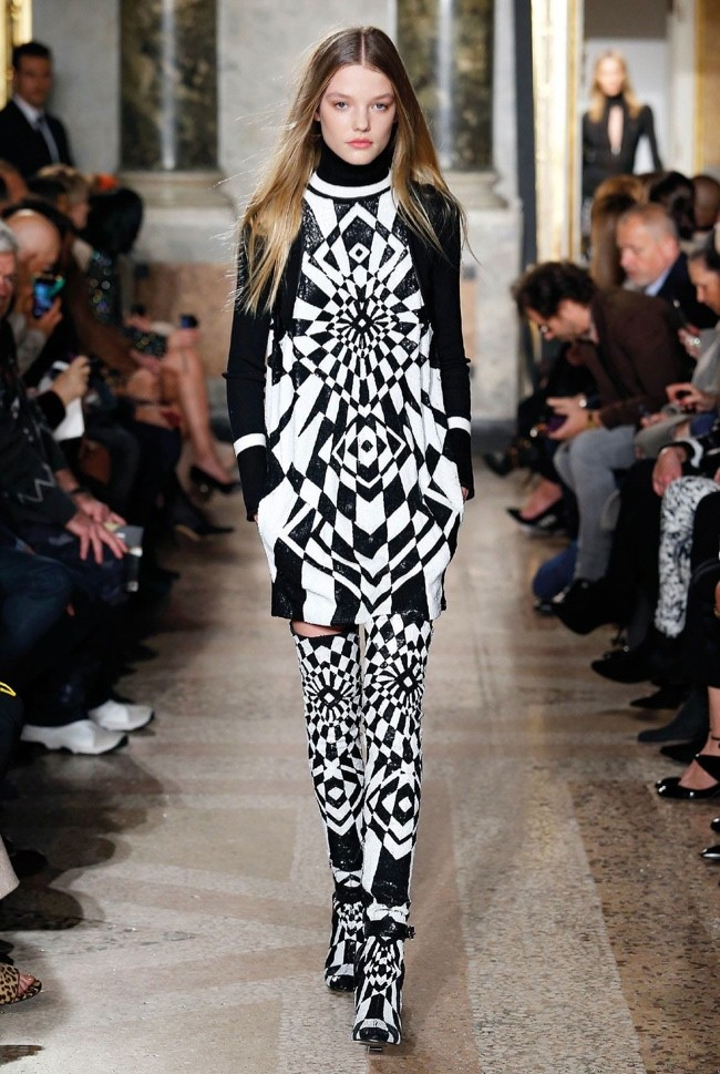 Emilio Pucci Does Graphic Prints Zodiac Style For Fall 2015