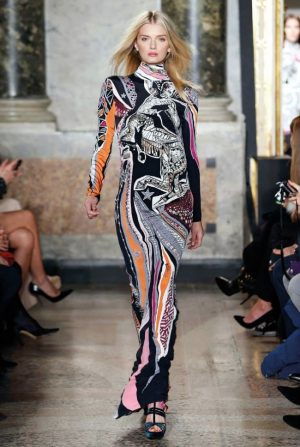 Emilio Pucci Does Graphic Prints, Zodiac Style for Fall 2015