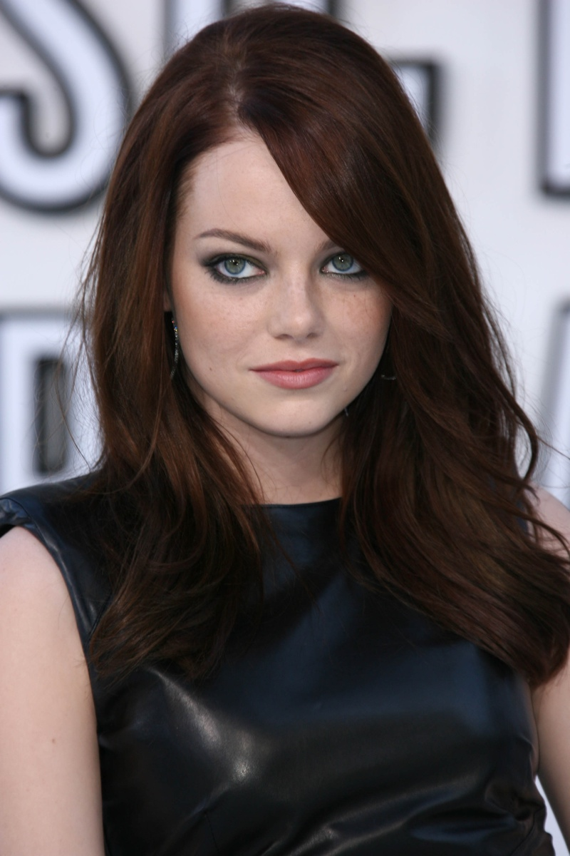 Emma Stone Hair Color Natural