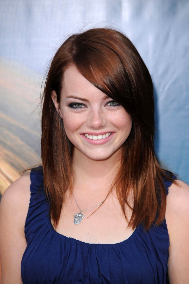 Emma Stone is an actual hair chameleon, and we have the ...