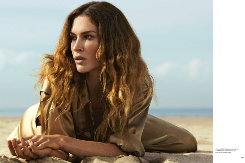 Erin Wasson Takes on Ralph Lauren's Dreamy Spring Looks