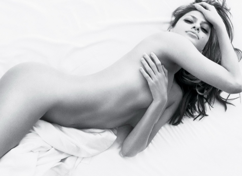 Eva Mendes starred in Calvin Klein's super sexy 'Secret Obsession' perfume ad in 2008. The commercial was banned from television due to Eva's excessive show of skin.