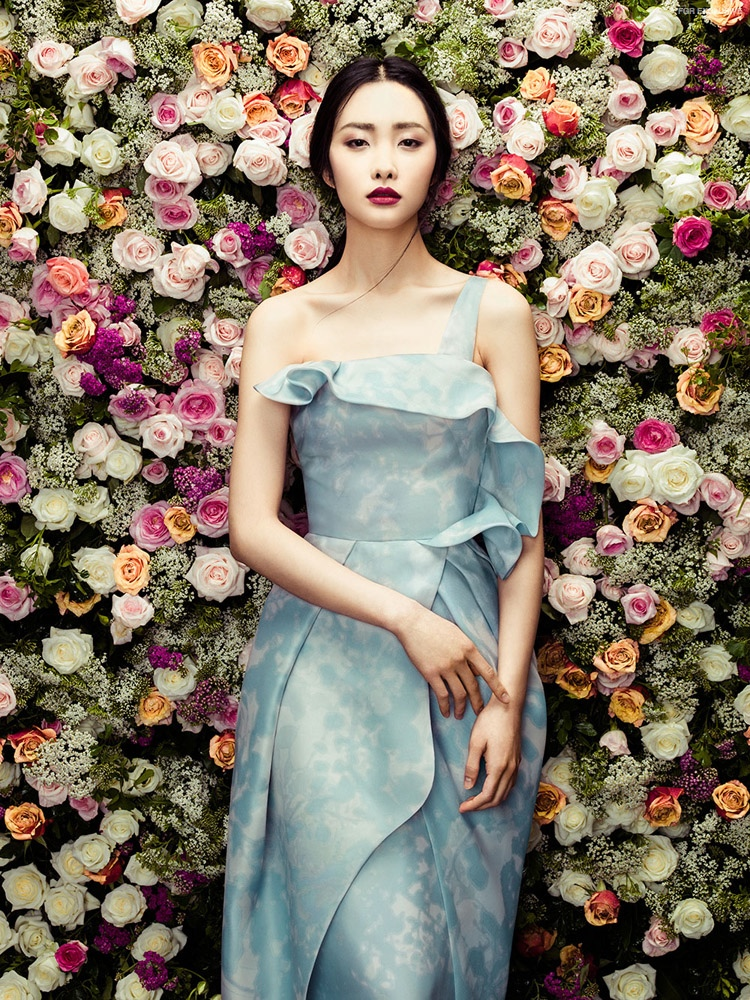 Exclusive: Kwak Ji Young is Ready for Spring in 'The Petals' by Zhang Jingna