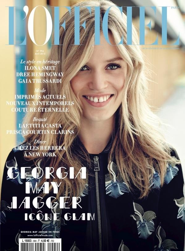 Cover Roundup: Georgia May is All Smiles for L'Officiel, Catherine McNeil for Vogue MX + More