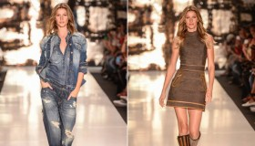 Gisele Bundchen is reportedly retiring from the runway after walking the Colcci show in April. Photo: Gisele Bundchen at Colcci fall/winter 2015 show.