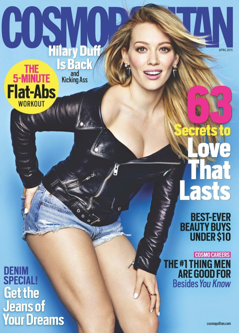 Hilary Duff Covers Cosmopolitan & Opens Up About Divorce