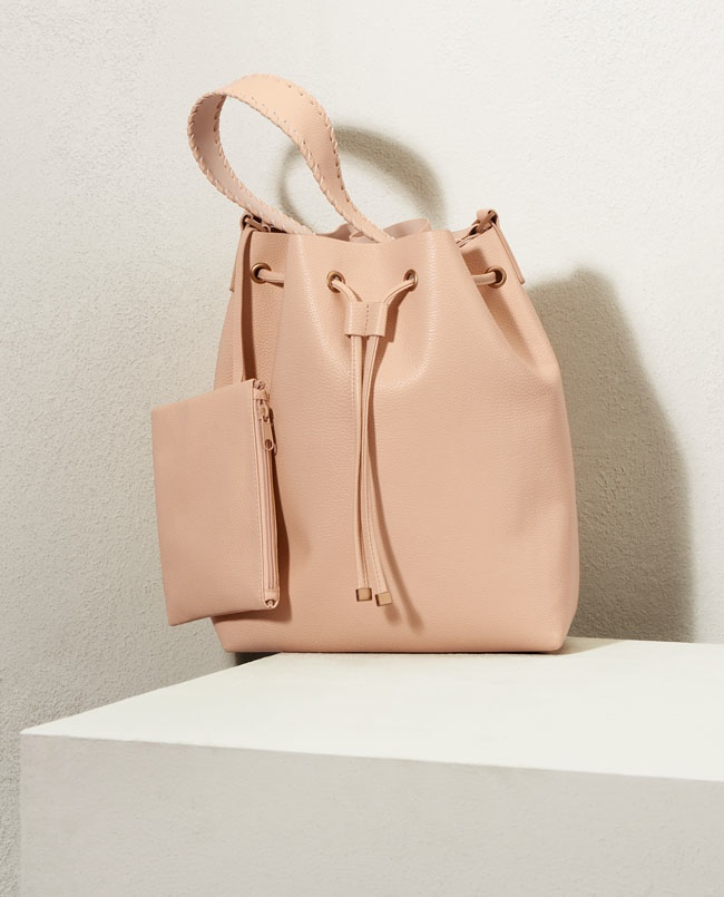 The bucket bag gets an update for spring