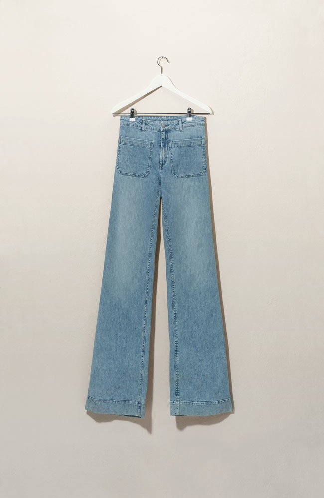 Wide-legged denim is a must-have silhouette from H&M's spring collection